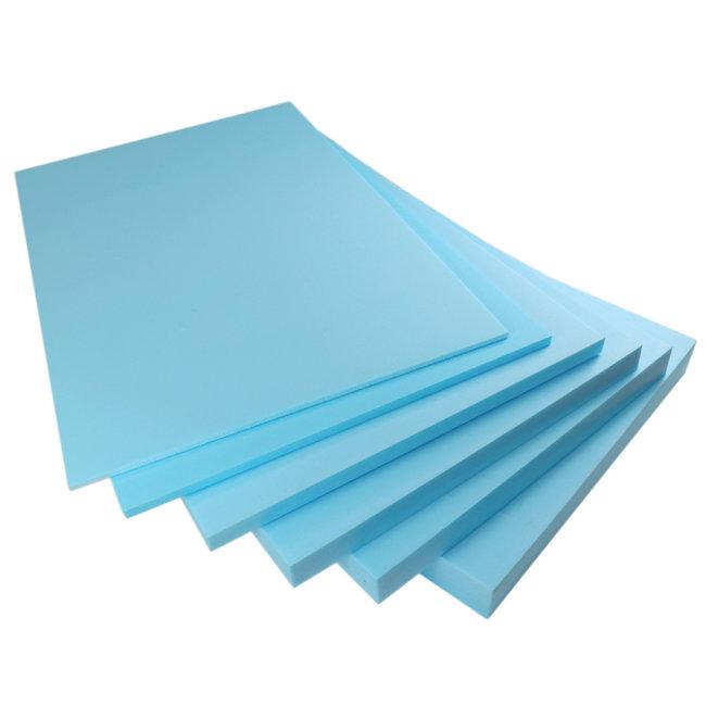 Quality heating Isolatieplaat XPS-PRO in 6,10 en 20mm dikte - 7,2m2 per pak - ISO84