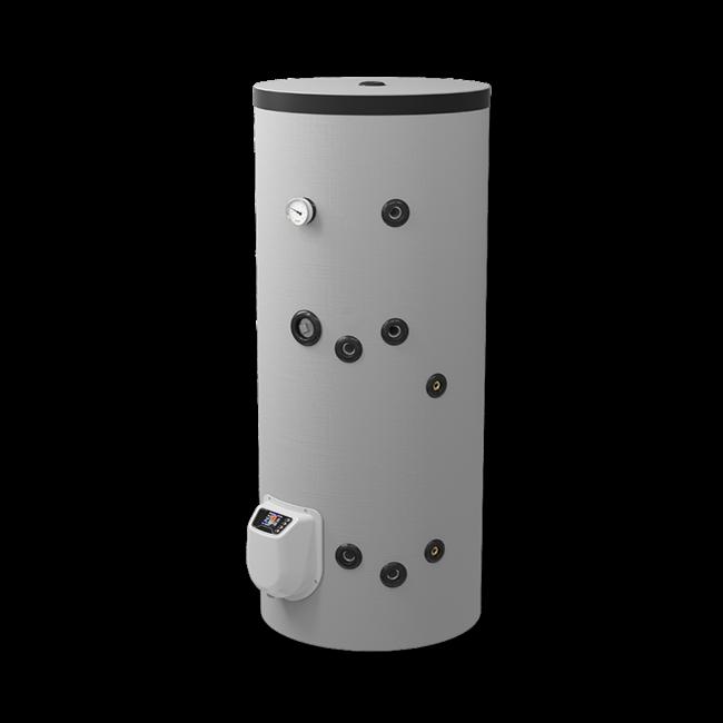 ELDOM Green Line Staande 200 liter boiler met  warmtewisselaar en digitale bediening