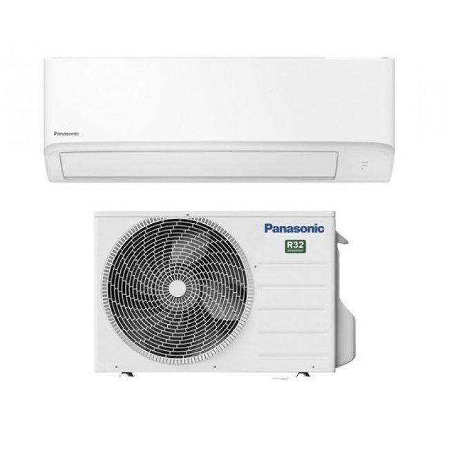 Panasonic Split-unit warmtepomp (KIT-FZ25-WKE) inverter airco 2.5 kW voorgevuld  (STEK)