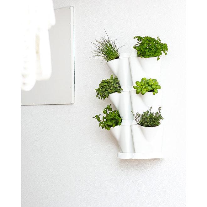 Minigarden Corner Wall Support muurbeugel Wit