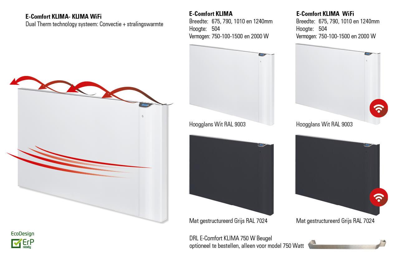 DRL products E-Comfort Klima wifi