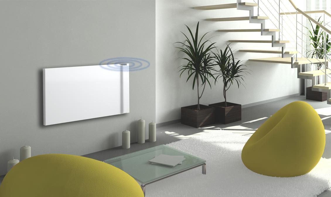 DRL products E-Comfort Klima elektrische radiator 2 kW