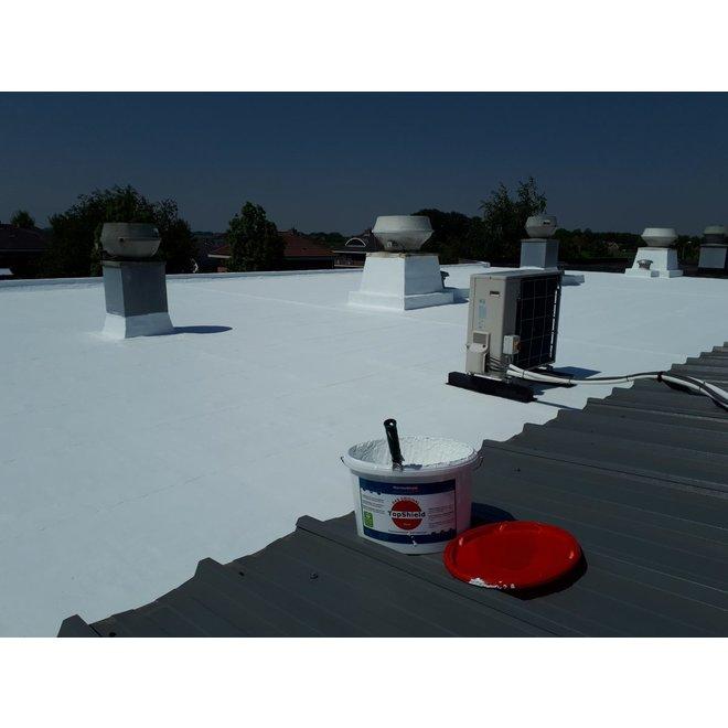 Topshield - temperatuur- en vochtregulerende muurverf, 12,5 liter - Wit