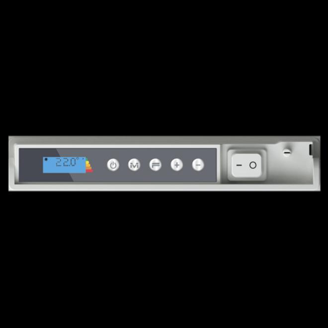 E- Comfort ICON,  Grijs, 750-2000 Watt, opt WIFI