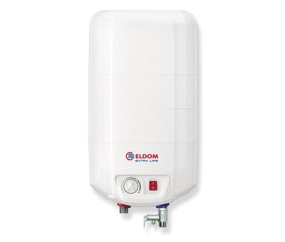 ELDOM Extra Life Keukenboiler, 15 liter, 2 kW, voor boven het aanrecht
