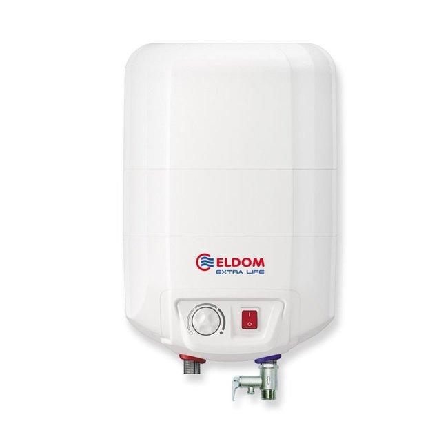 ELDOM Extra Life Keukenboiler, 10 liter, 2 kW, voor boven het aanrecht