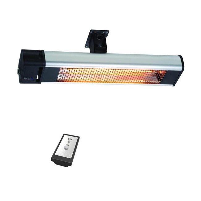 Infrarood heater met afstandbediening 1800Watt