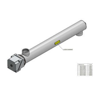 RVS drinkwater doorstroomverwarmer - 3 t/m 32 kW