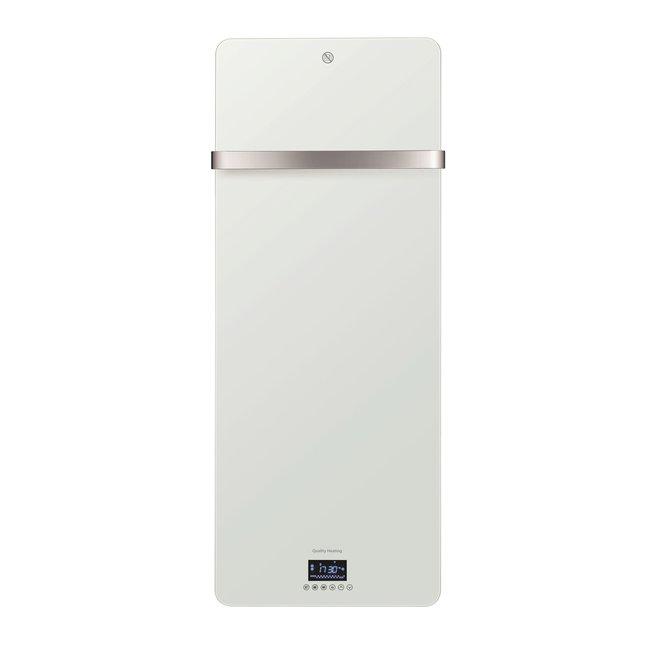 Quality heating Design glas infrarood paneel 850W met wifi thermostaat QH41