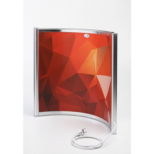 Quality heating Gebogen mobiele infrarood verwarming curve paneel 300Watt