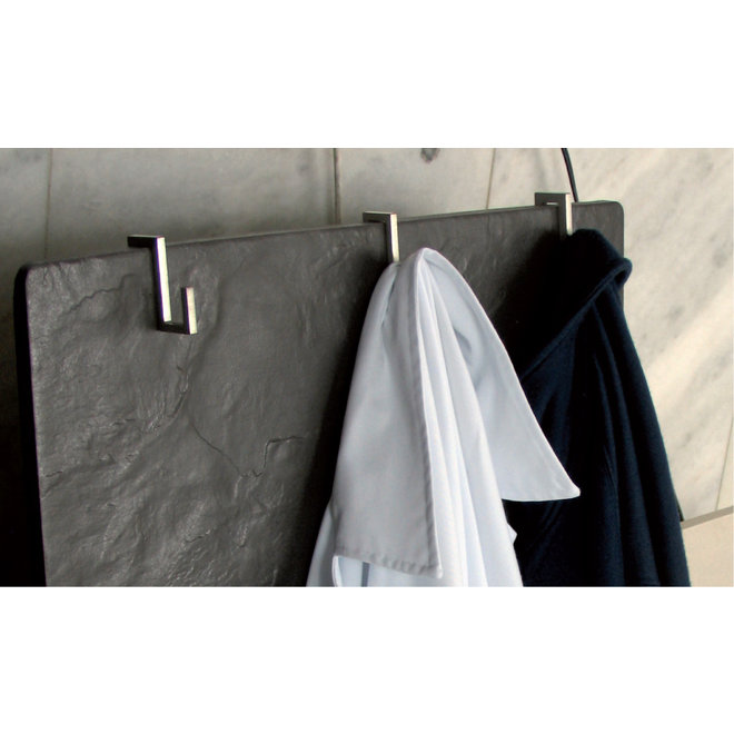 Roestvrij stalen handdoekhaak voor de Climastar verwarming (3 stuks)