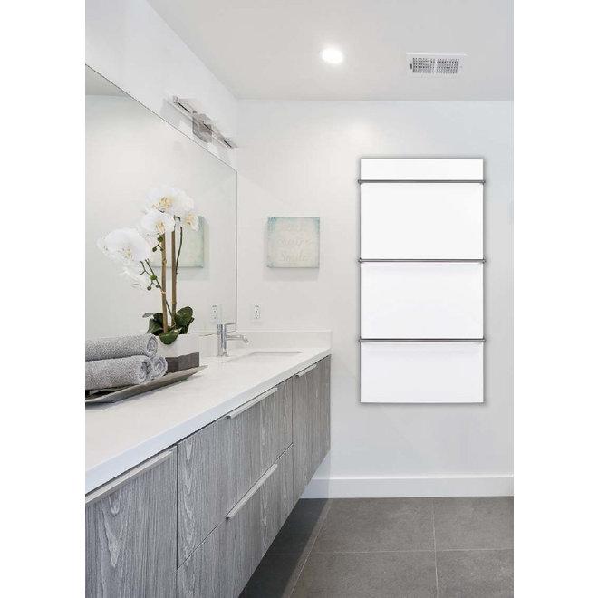 Spa Ceramic+ infraroodpaneel met handdoekbeugel, 600 Watt, 90x60 cm