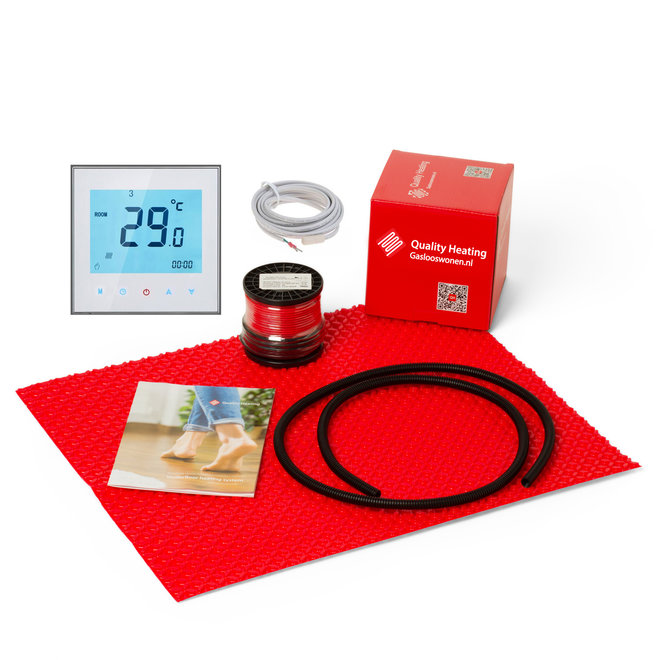 DCM-PRO vloersysteem elektrische vloerverwarming