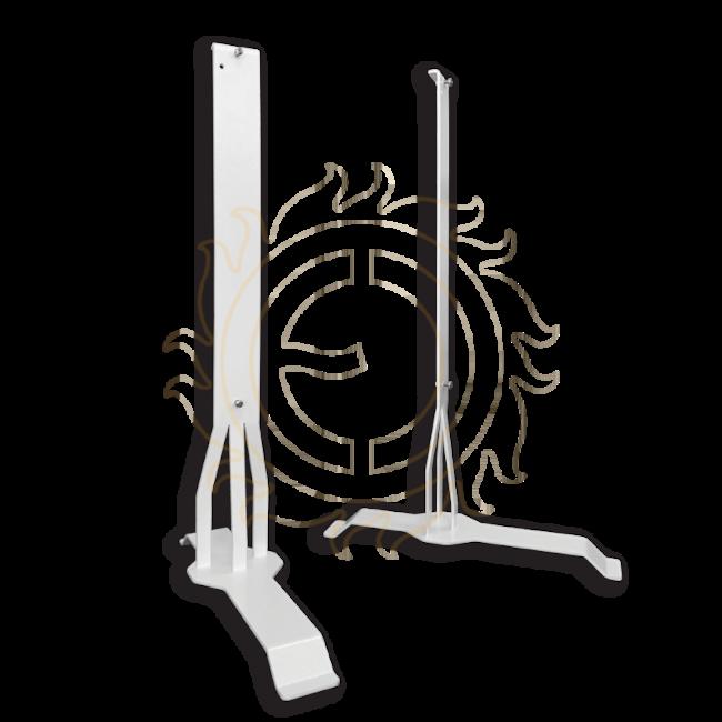 Luxe voetsteun voor Ecosun infraroodpanelen met structuur