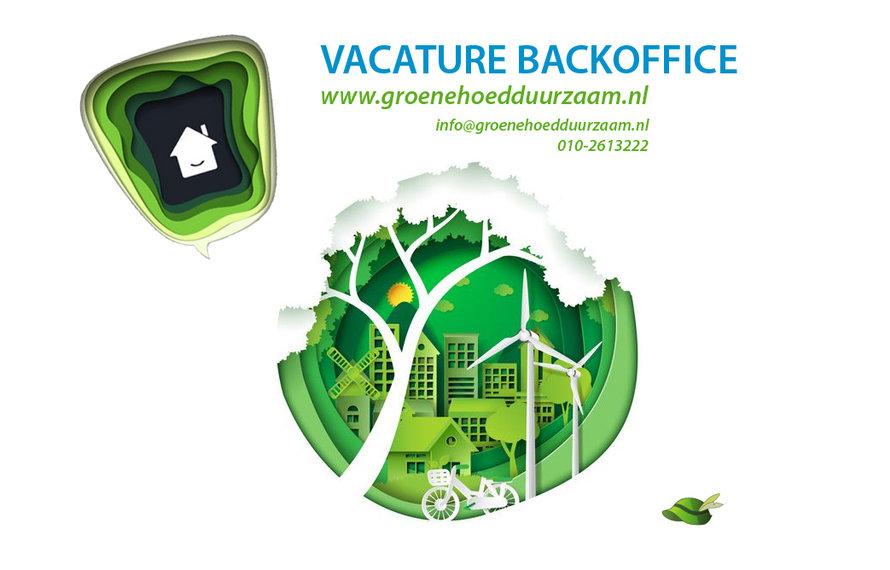 Vacature klantenservice Groene Hoed