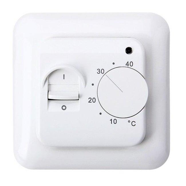 Eenvoudige hand thermostaat voor elektrische (vloer)verwarming