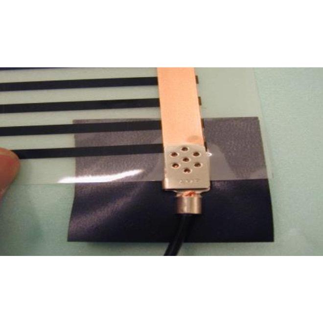 Extra krimpconnectoren t.b.v. vloerverwarmingsfolie