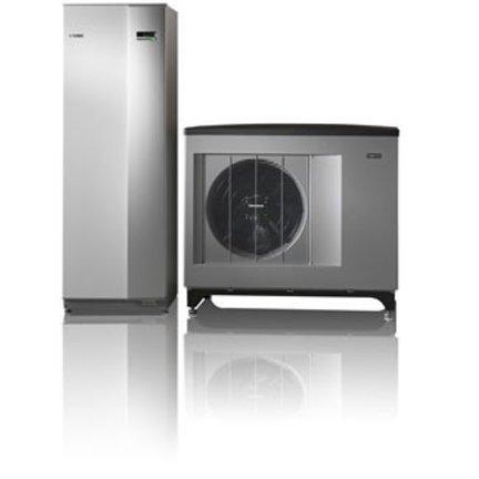 Warmtepomp voor verwarming en tapwater