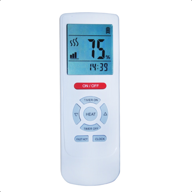 Wifi infrarood black heater 1800 W en 2400 W