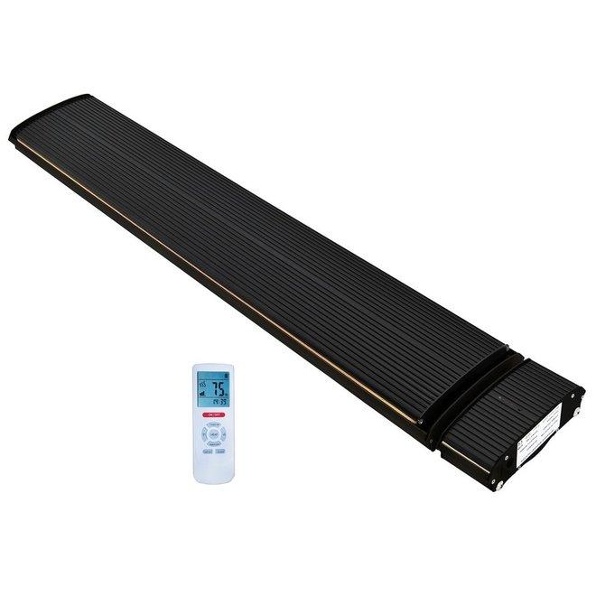 Infrarood black heater 1800 W en 2400 W