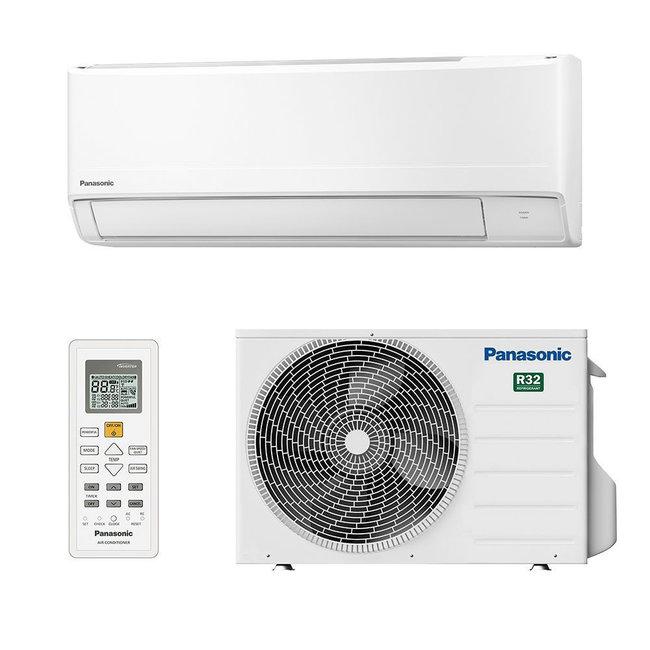 Panasonic Split-unit warmtepomp (KIT-FZ50-WKE) inverter airco 5 kW voorgevuld  (STEK)