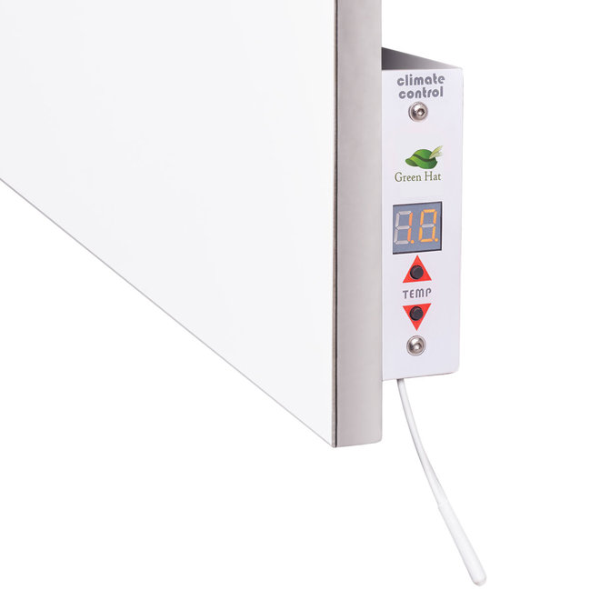 Spa Ceramic+ infraroodpaneel met handdoekbeugel, 400 Watt, 60x60 cm