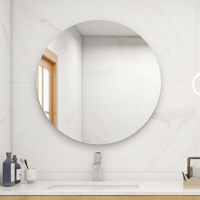 Ronde spiegel infrarood verwarming,   85cm 320Watt