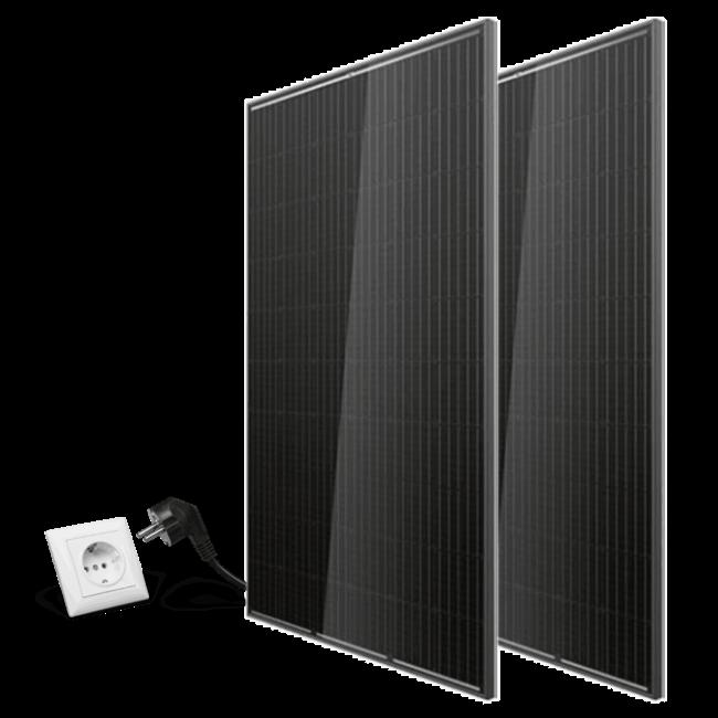 Doe het zelf pakket zonnepanelen – On Grid- 2 panelen