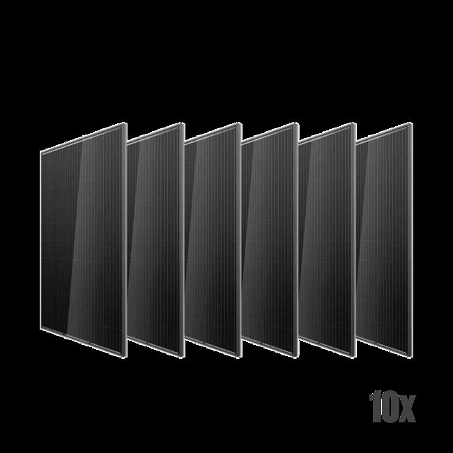 Doe het zelf pakket zonnepanelen – On Grid- 10 panelen