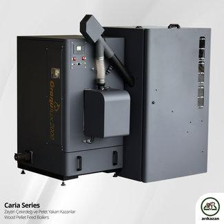 Arikazan Caria - 60 kW biomassaketel