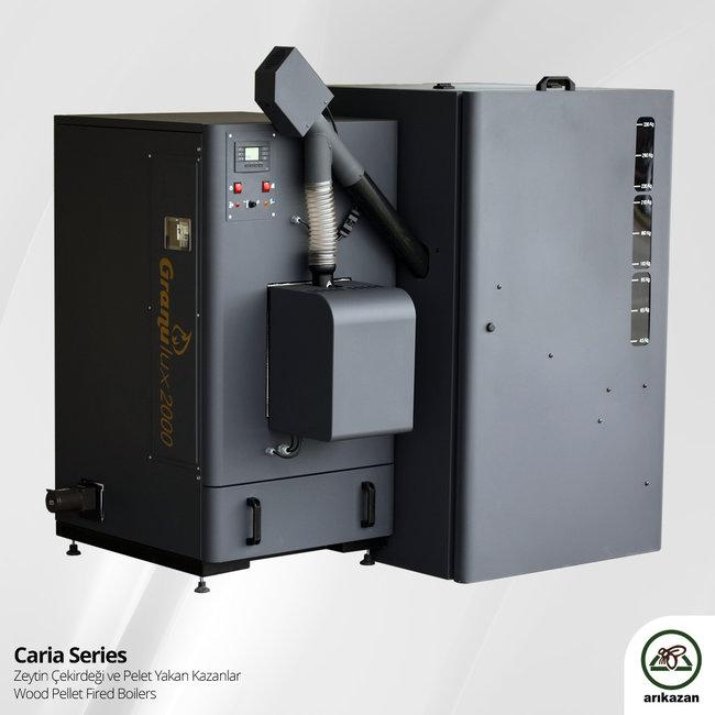 Arikazan Caria – CP-100 kW biomassaketel