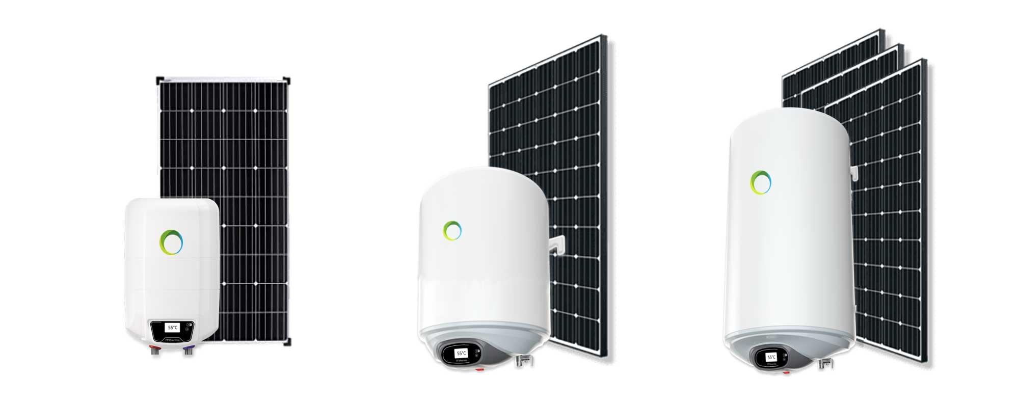 Nieuw in ons assortiment: Zonnepaneel boilers
