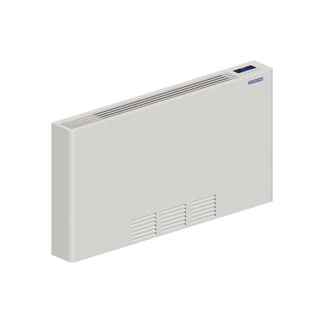 DRL products Lucca waterzijdige ventilatorconvector WIT
