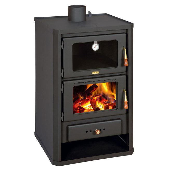 Prity Vrijstaande houtkachel met oven FG - 14 kW