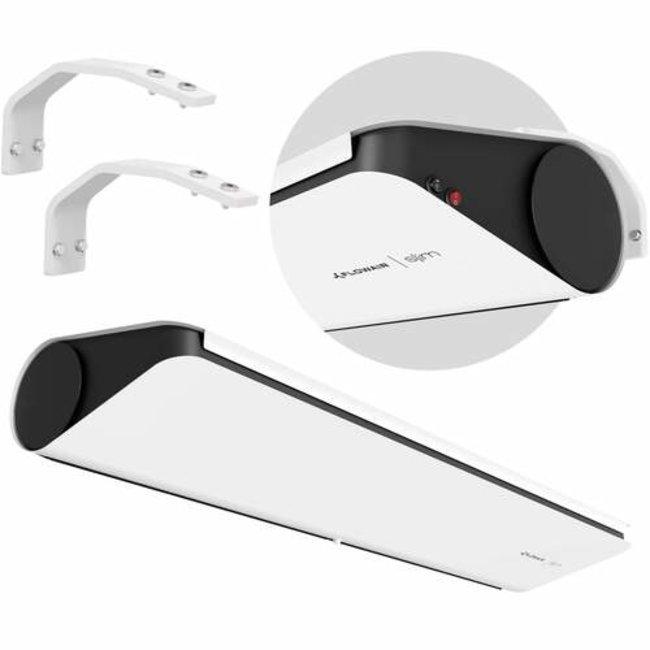 DRL products Flowair SLIM -  elektrisch luchtgordijn met bewegingssensor