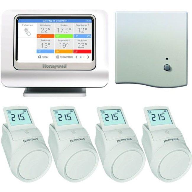 Honeywell EVOHOME radiator wifi pakket - Open thermostaat ketel