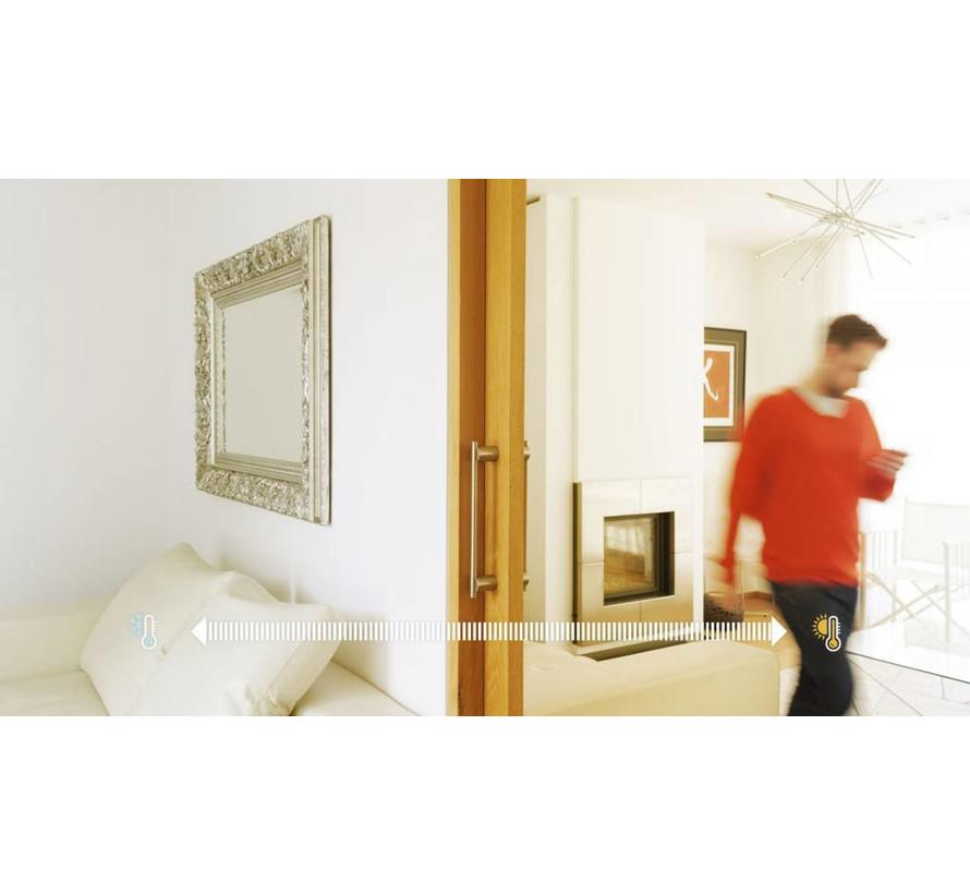 EVOHOME multizone regelset voor vloerverwarming