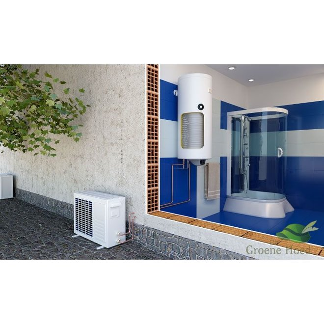 120 liter Lucht-water warmtepompboiler  voor tapwater