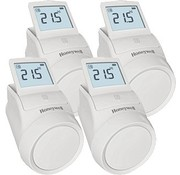 Honeywell Set slimme radiatorknoppen (4 stuks)
