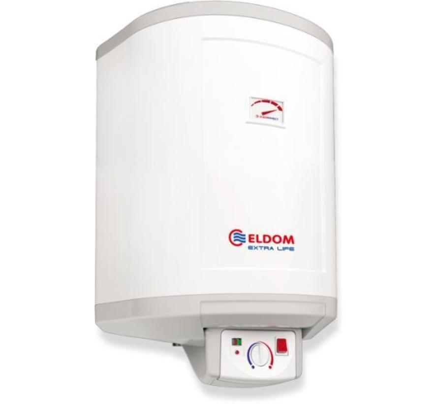 Verticale elektrische boiler 30L, Extra Life, 1.5 kW, emaill