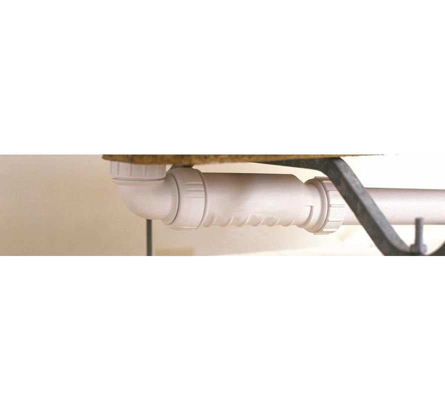Knie adapter voor HepVo Sifon