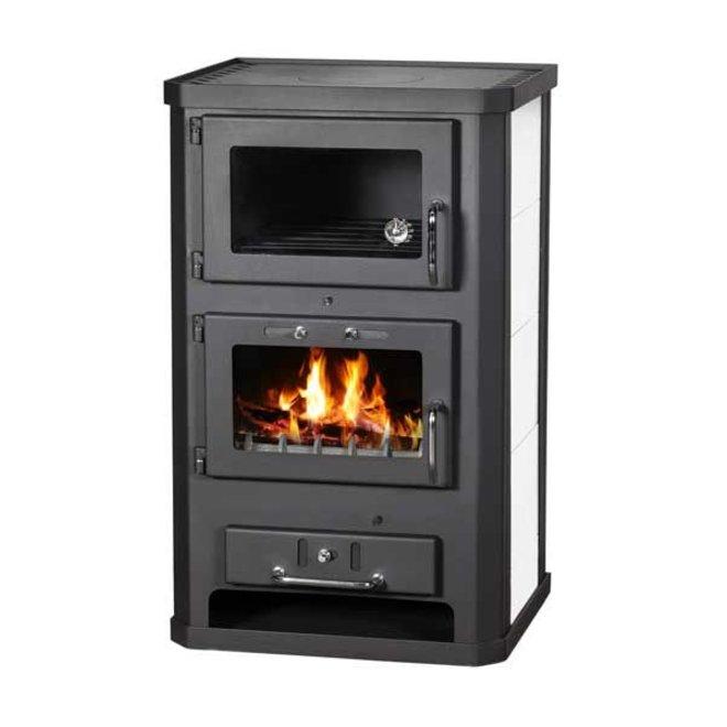 Komfort 21 KFT, Houtkachel met oven, 10 kW
