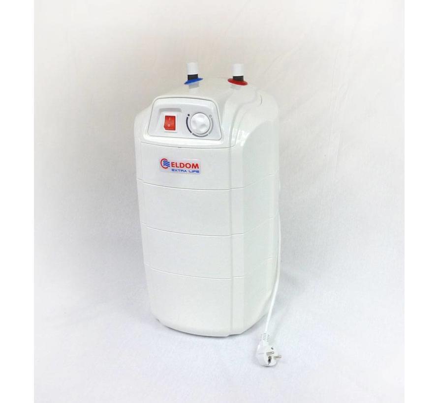 Keukenboiler, 15 liter, 2 kW, voor onder het aanrecht
