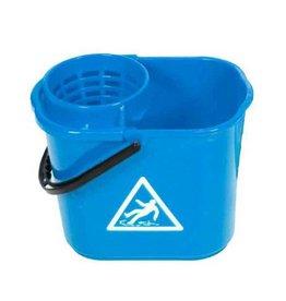 ACOR Minimopemmer kunststof 14 liter blauw met uitwringkorf