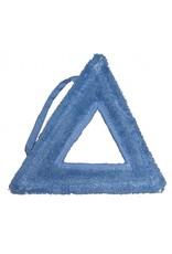 ROBBY Stoom micropower-mop driehoek blauw