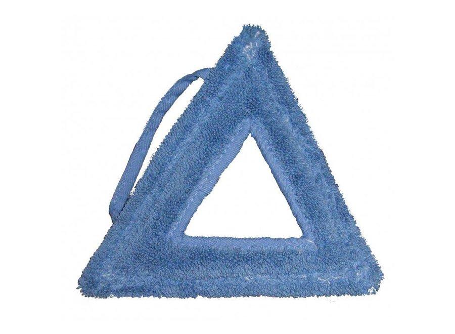 Stoom micropower-mop driehoek blauw