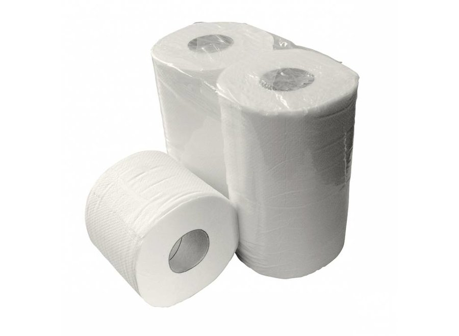 Toiletpapier 40 rol 400 vel 2 laags cellulose
