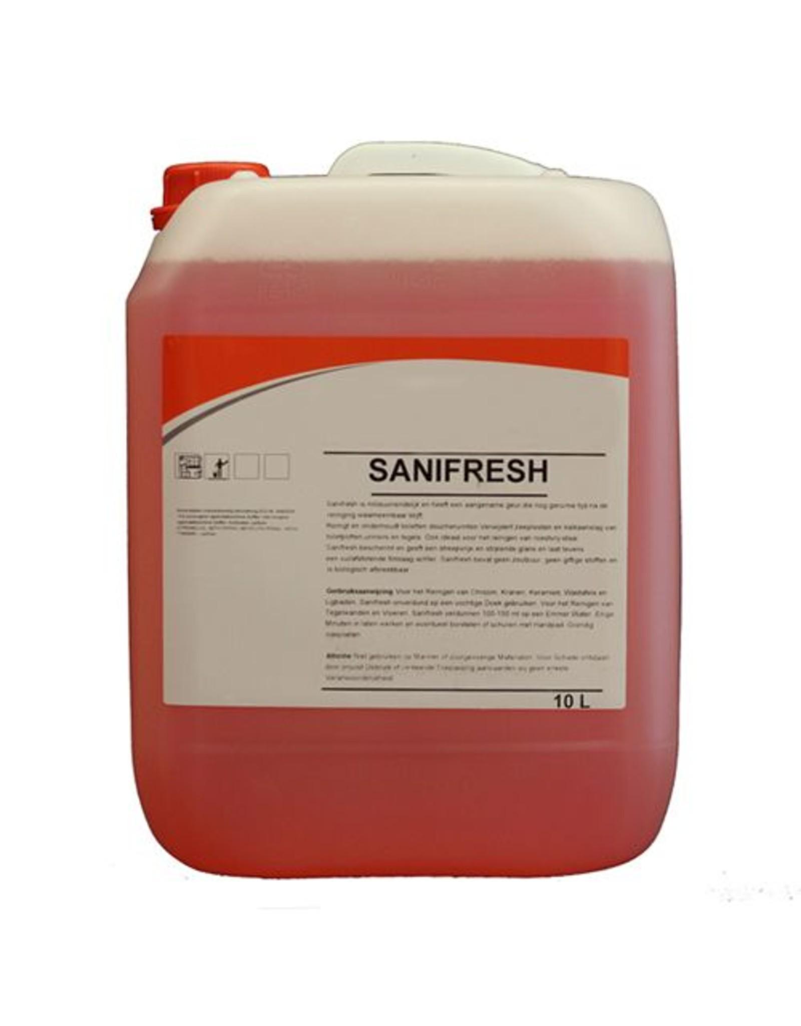 ACOR Sanitair reiniger Sanifresh 10 ltr.
