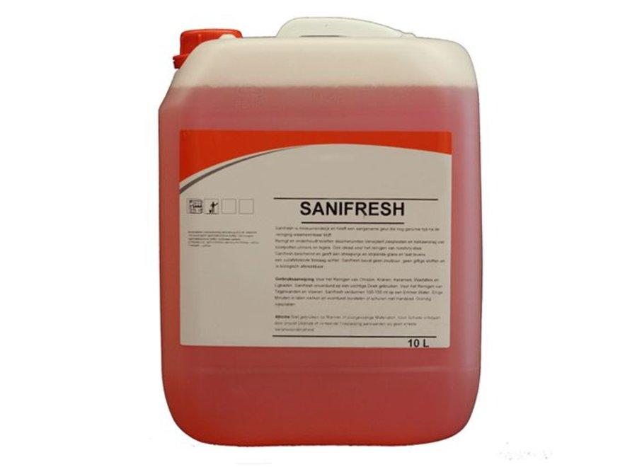 Sanitairreiniger Sanifresh 10 ltr.