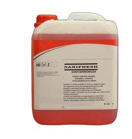 ACOR Sanitair reiniger Sanifresh 5 ltr. voor stralende glans.